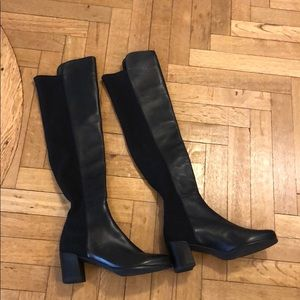 Stuart Weitzman new over the knee leather boots